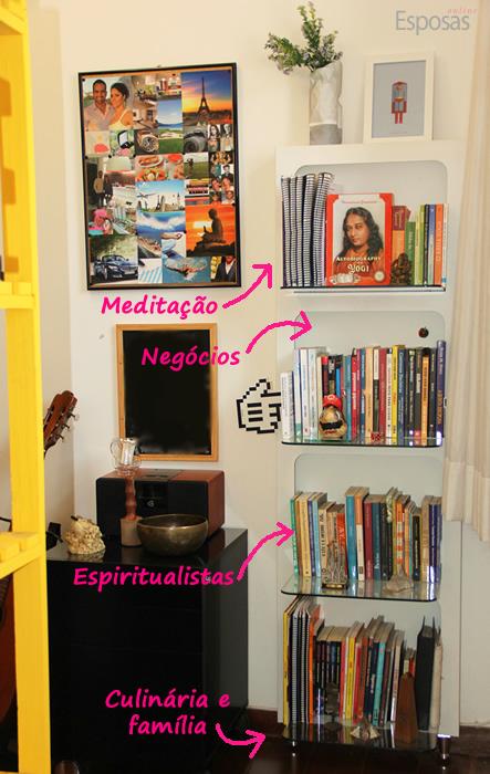 Estante para livros crianças